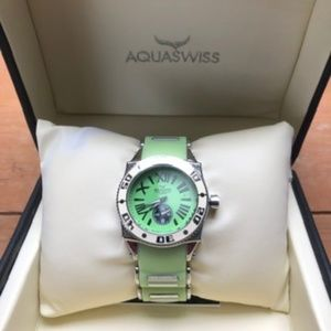 Aquaswiss - Water Resistant Chronograph Watch